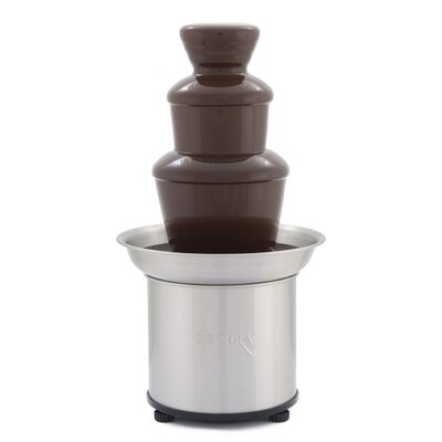 """16"""" Select Fondue Fountain in Brushed Stainless Steel"""