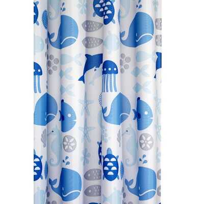 Altitude Coast Textile Shower Curtain