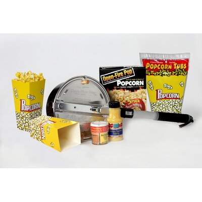 Open Fire Outdoor Popcorn Party Set