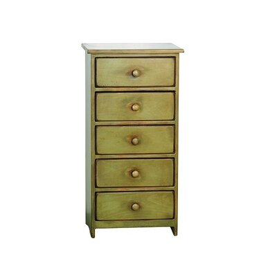 Leesburg 5 Drawer Accent Chest