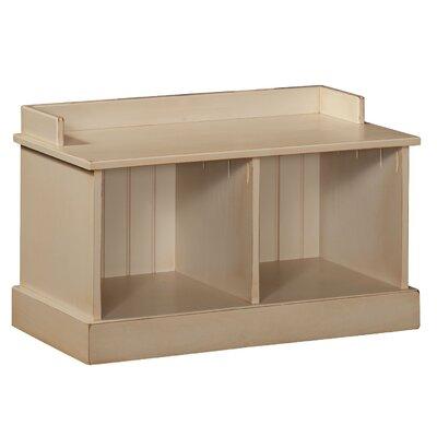 Springboro Hall Wood Storage Bench