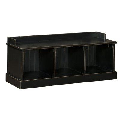 Springboro Wood Storage Bench