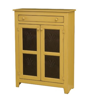Friedrick 1 Drawer Wood Accent Cabinet