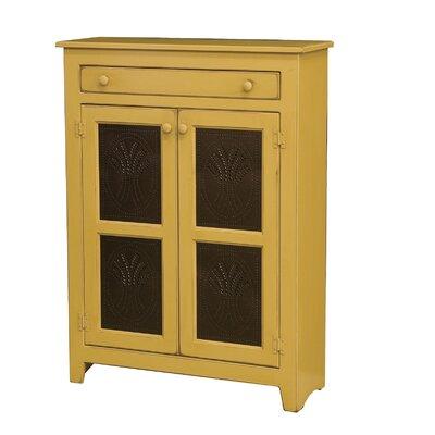 Friedrick 1 Drawer Wood Accent Cabinet