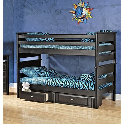 Allendale Twin Over Twin Bunk Bed with Storage