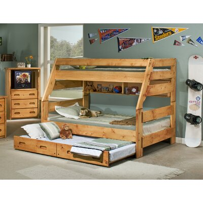 Brieley Twin Over Full Bunk Bed with Trundle