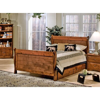 Alders Full Sleigh Bed with Storage