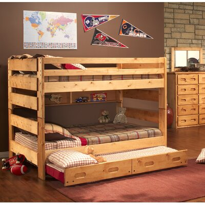 Timeless Full Over Full Bunk Bed with Trundle