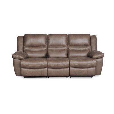 Du Reclining Sofa Upholstery: Ash