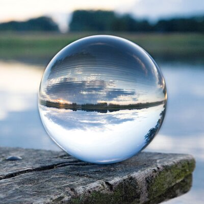 Eurographics Glass Ball by EG Design Team Photographic Print on Glass