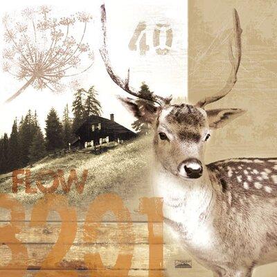 Eurographics Deco Metal Löia Graphic Art Plaque
