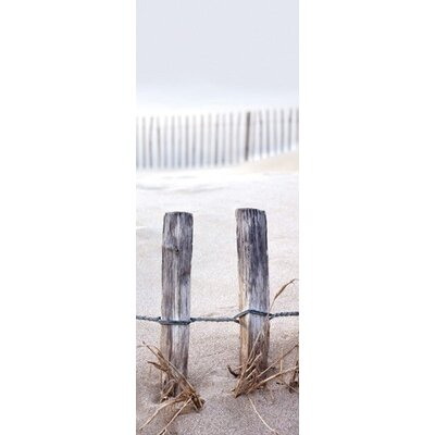Eurographics Fence in the Dunes Photographic Print
