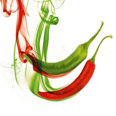Eurographics Hot Chilli Peppers Graphic Art