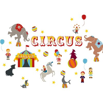 "Eurographics ""Circus"" Wall Sticker"