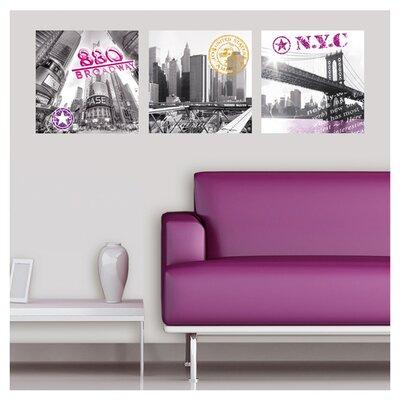 Eurographics New York Impressions Wall Sticker