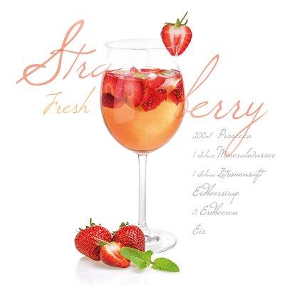 Eurographics Decoglass Strawberry Graphic Art