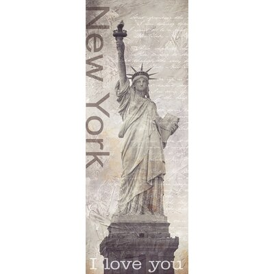 Eurographics New York Diary by Designfabrik Graphic Art on Canvas