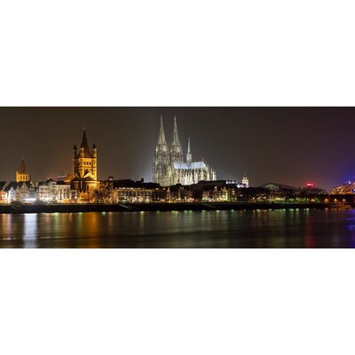 Eurographics Summer Night in Cologne by EG Design Team Photographic Print