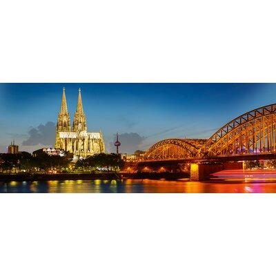 Eurographics Decoglass Coloured Cologne Photographic Print