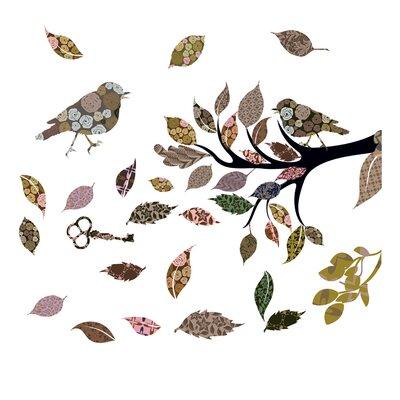 Eurographics Retro Bird Window Sticker