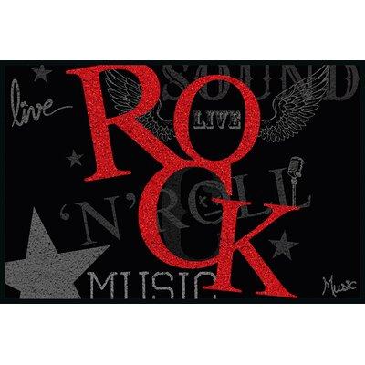 Eurographics Rock Music Boot Scraper
