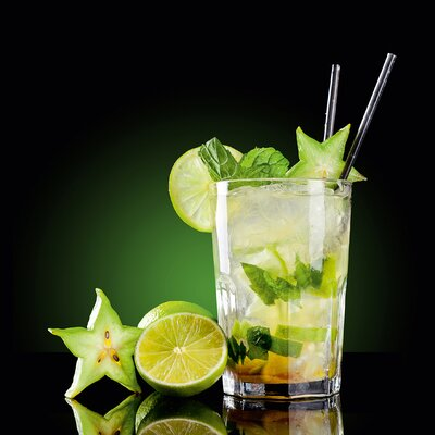 Eurographics Delicious Drink by EG Design Team Photographic Print on Glass