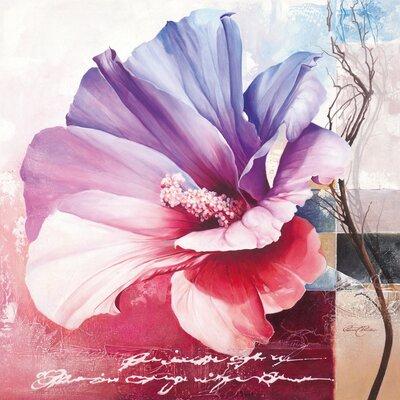Eurographics Violet Garden Graphic Art Plaque