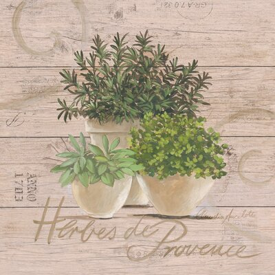 Eurographics Herbes de Provence by Claudia Ancilotti Art Print Plaque