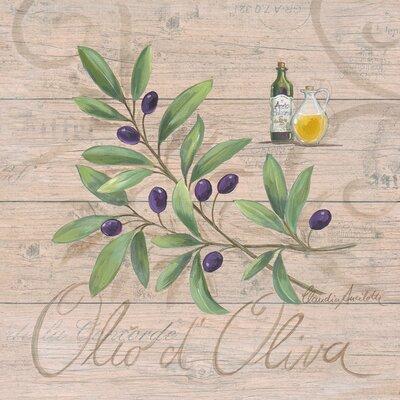 Eurographics Olio d'Oliva by Claudia Ancilotta Art Print Plaque
