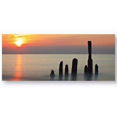 Eurographics Silent Sunset Photographic Print on Glass