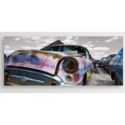 Eurographics Rusty Oldtimer by EG Design Team Photographic Print on Glass