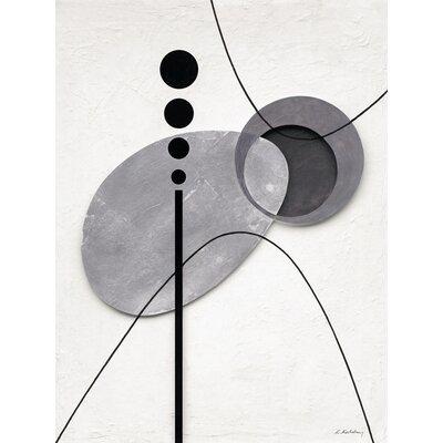 Eurographics Levitating Elements Graphic Art on Canvas
