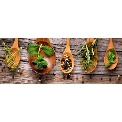 Eurographics Spoons and Herbs Photographic Print