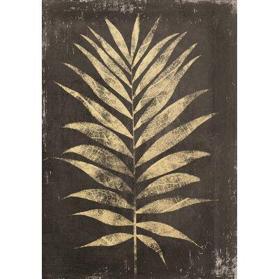Eurographics My Golden Leaf Framed Canvas Print