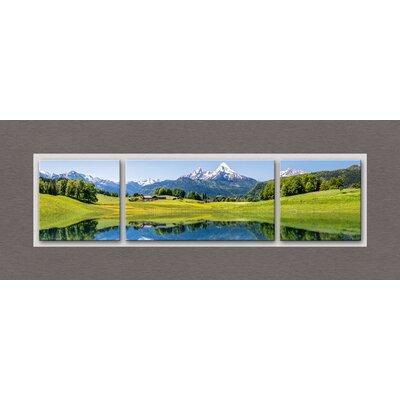 Eurographics Label Acrylic Idyllic Summer Landscape Graphic Art Glass Art