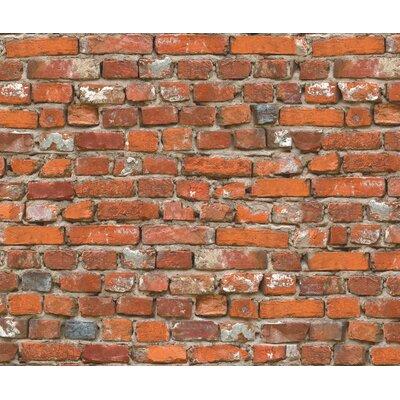 Eurographics Vintage Brick Wall Wall Art