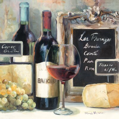 Eurographics Les Fromages Wall Art on Canvas