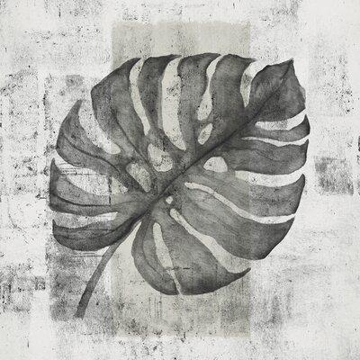 Eurographics My White Leaf Framed Canvas Print