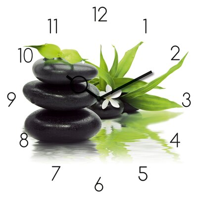 Eurographics Time Art Spa Arrangement Analogue Wall Clock