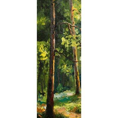 Eurographics Walking Through Trees I Wall Art on Canvas