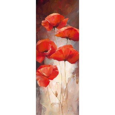 Eurographics Poppy Bouquet I Wall Art on Canvas