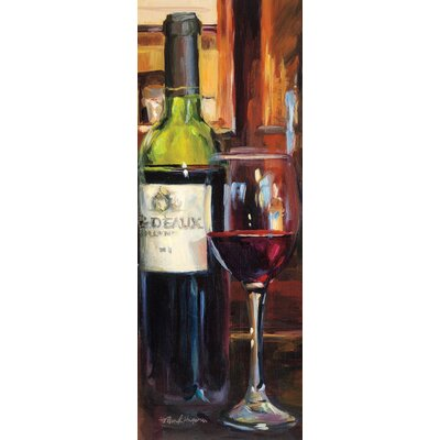 Eurographics A Reflection Of Wine I Canvas Print