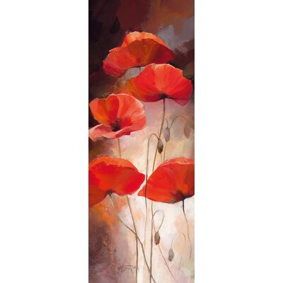 Eurographics Poppy Bouquet II Painting Print