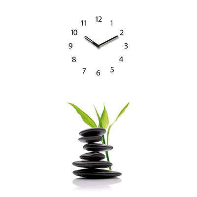 Eurographics Time Art Green Shelter Wall Clock