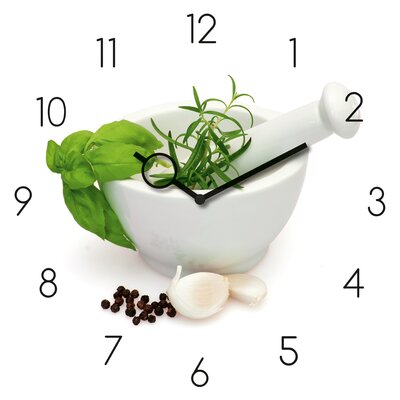Eurographics Time Art Marinade In Mortar Analogue Wall Clock
