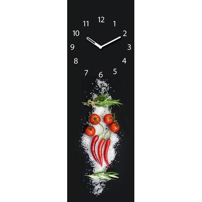 Eurographics Time Art Cucina Italiana Pomodori Wall Clock