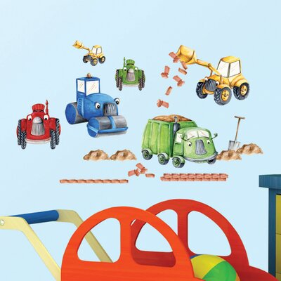 Eurographics Tractors & Trucks Wall Sticker