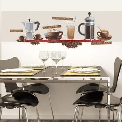 Eurographics Coffee Wall Sticker