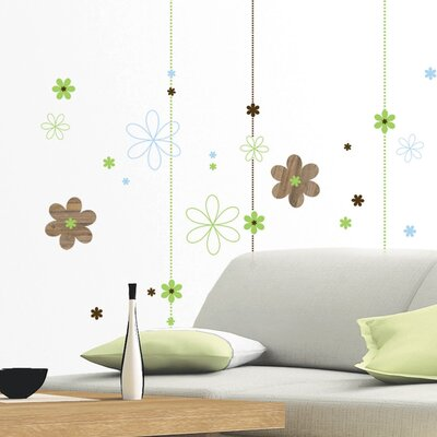 Eurographics Graphic Blooms Wall Sticker