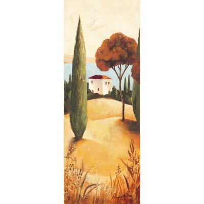 Eurographics Montecastello II Canvas Print